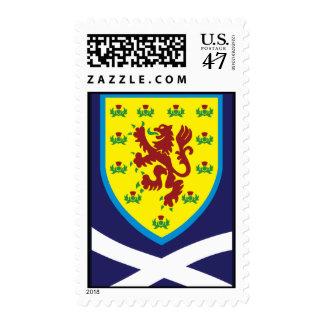Scotland-Badge Postage Stamp
