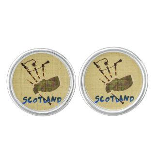Scotland Bagpipes Cuff Links