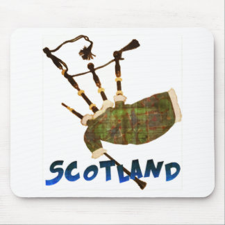 Scotland Bagpipes Mouse Pad