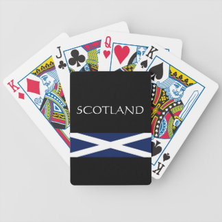 Scotland Bicycle Playing Cards