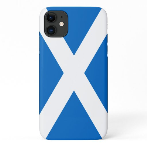 Scotland Bold Flag Graphic iPhone 11 Case