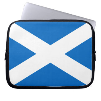 Scotland Bold Flag Graphic Laptop Computer Sleeve