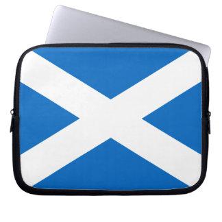 Scotland Bold Flag Graphic Laptop Sleeve