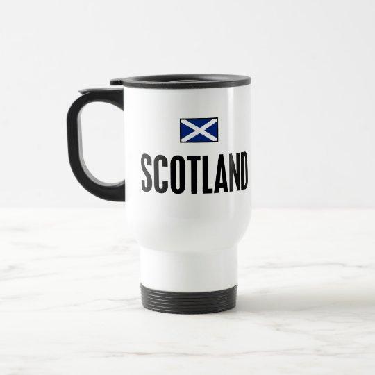 Scotland Bold Travel Mug