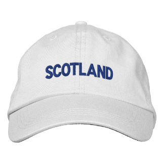 Scotland British Country United Kingdom Patriotic Embroidered Hat