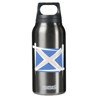 Scotland Brush Flag Insulated Water Bottle