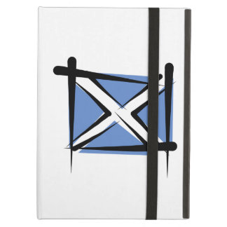 Scotland Brush Flag iPad Air Cover