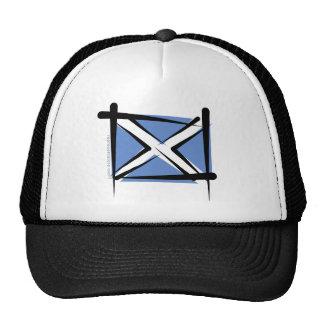 Scotland Brush Flag Trucker Hat