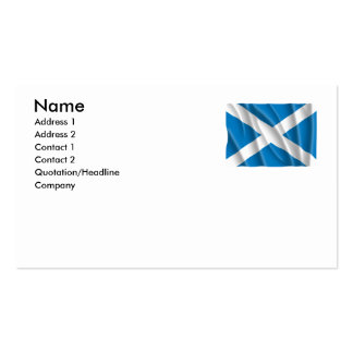 SCOTLAND Double-Sided STANDARD BUSINESS CARDS (Pack OF 100)