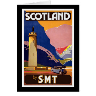 Scotland By SMT Greeting Card
