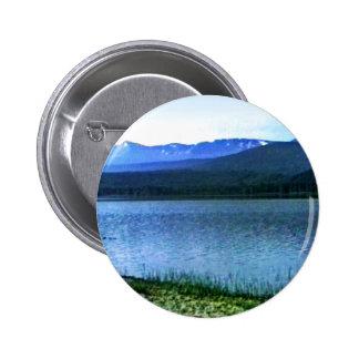 Scotland Cairngorm Mountains Art -36909a1 jGibney Pinback Button