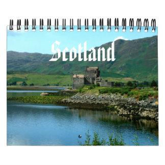 Scotland Calendar Wall Calendar