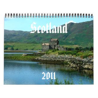 Scotland Calendar