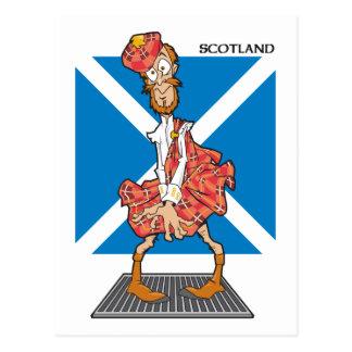 Scotland Cartoon Postcards