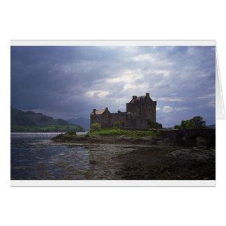 Scotland Castle Card