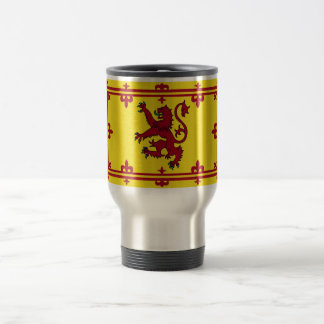 Scotland Coat of arms 15 Oz Stainless Steel Travel Mug