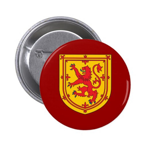 Scotland coat Of Arms 2 Inch Round Button