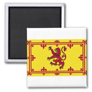 Scotland Coat of arms 2 Inch Square Magnet
