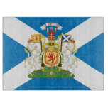 Scotland Coat of Arms and Flag Cutting Board