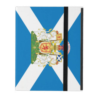 Scotland Coat of Arms and Flag iPad Cover
