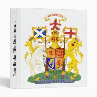 Scotland Coat of Arms detail 3 Ring Binders