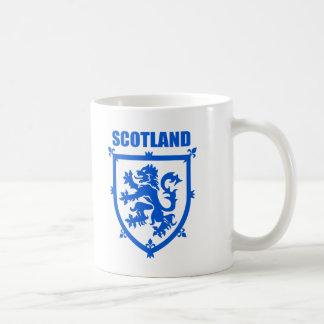 Scotland Coat of Arms Lion Emblem Coffee Mug, Blue Coffee Mug