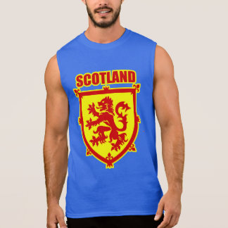 Scotland Coat of Arms Lion Rampant Sleeveless Shirt