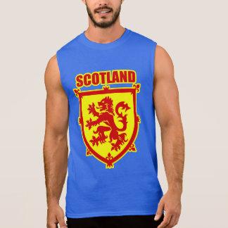 Scotland Coat of Arms Lion Rampant Sleeveless T-shirt