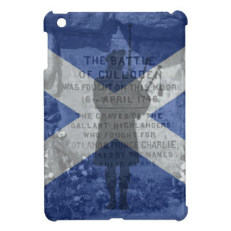 Scotland, Culloden battle, flag pipes bag pipers iPad Mini Covers