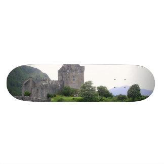 SCOTLAND EILEAN DONAN SKATE BOARDS