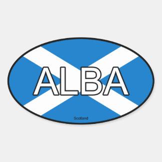 Scotland Euro Sticker