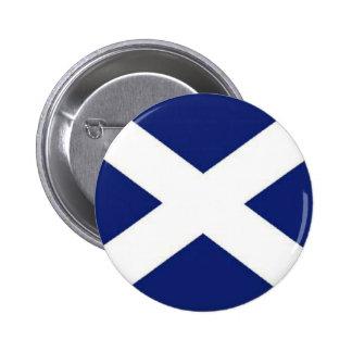 SCOTLAND FLAG 2 INCH ROUND BUTTON