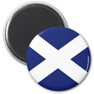 SCOTLAND FLAG 2 INCH ROUND MAGNET
