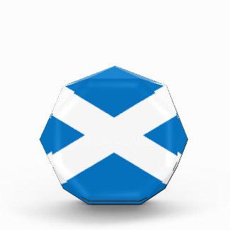 Scotland Flag Acrylic Award