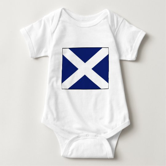 SCOTLAND FLAG BABY BODYSUIT