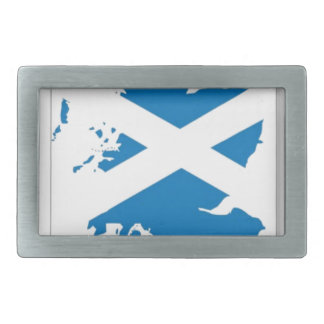 Scotland Flag Rectangular Belt Buckle