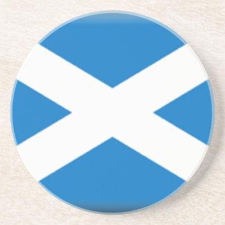 Scotland Flag Beverage Coaster