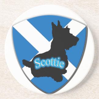 Scotland Flag Beverage Coasters