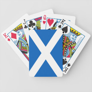 Scotland Flag Bicycle Playing Cards