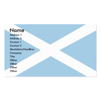 Scotland Flag Double-Sided Standard Business Cards (Pack Of 100)