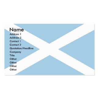 Scotland Flag Business Card