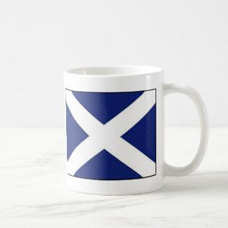SCOTLAND FLAG CLASSIC WHITE COFFEE MUG