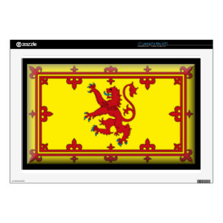 "Scotland Flag Decals For 17"" Laptops"