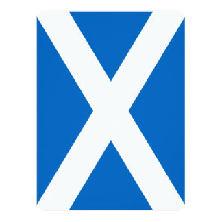 Scotland Flag Design Card