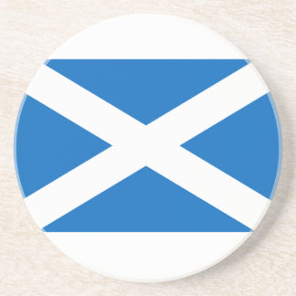 Scotland Flag Drink Coasters