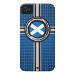 Scotland Flag Emboss iPhone 4 Case-Mate Case
