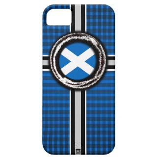 Scotland Flag Emboss iPhone 5 Case-Mate Case