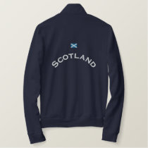 Scotland Flag Embroidered Jacket