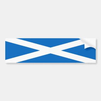 Scotland Flag Freedom Bumper Sticker