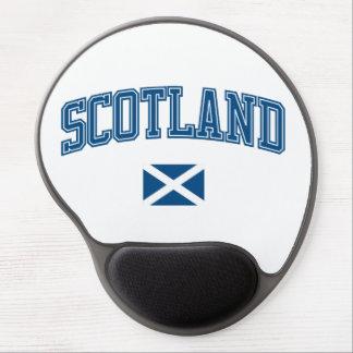 Scotland + Flag Gel Mousepads